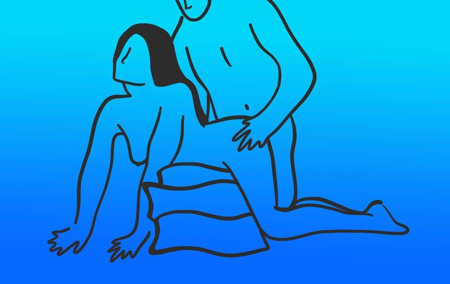 "The ""Pillow Princess"" Sex Position"