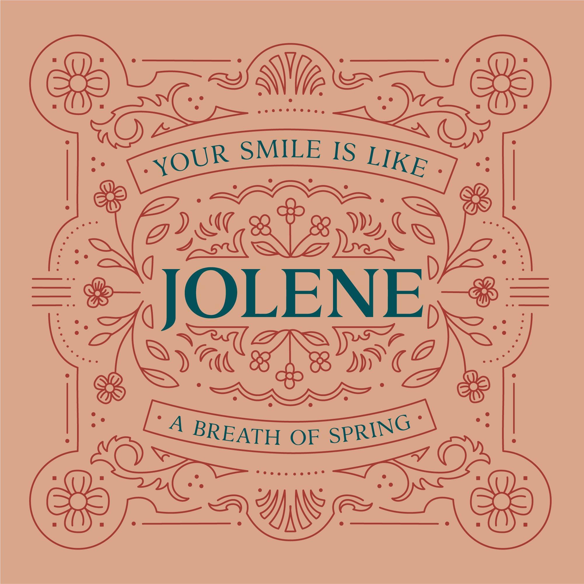 OC Jolene type family elegant serif font in regular and bold versions