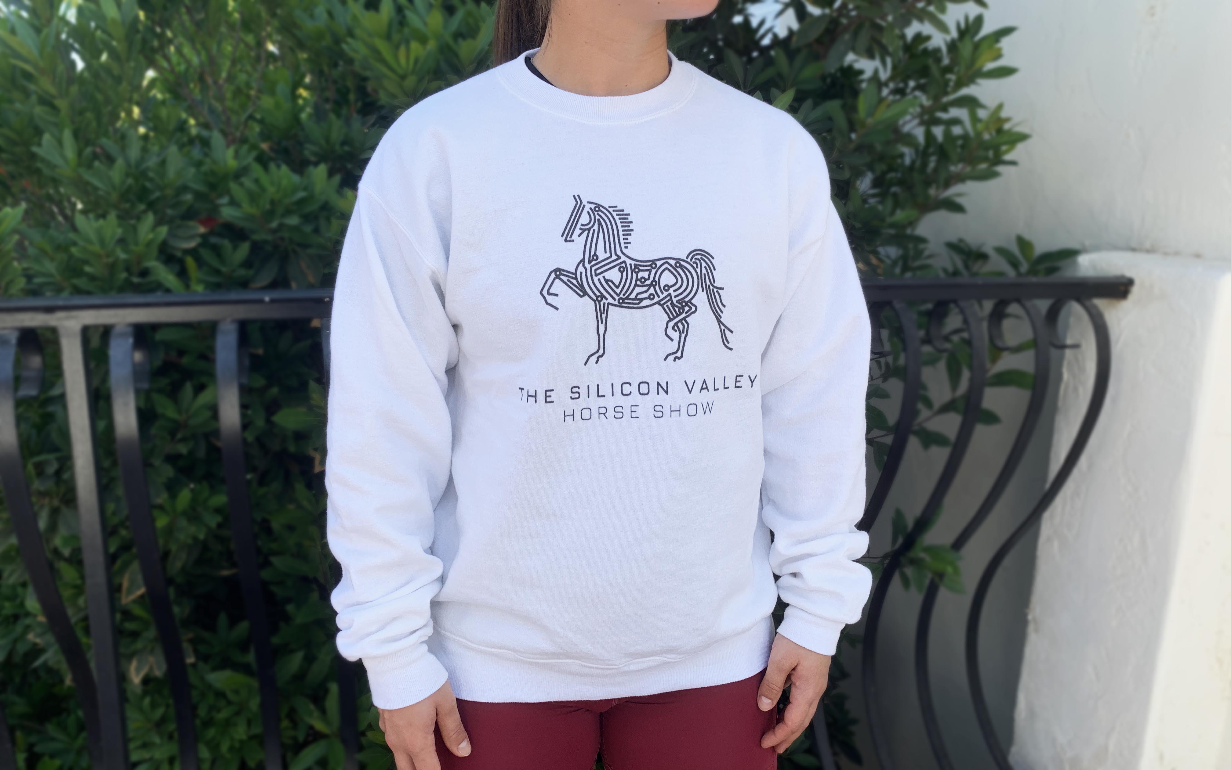 horse logo sweatshirt
