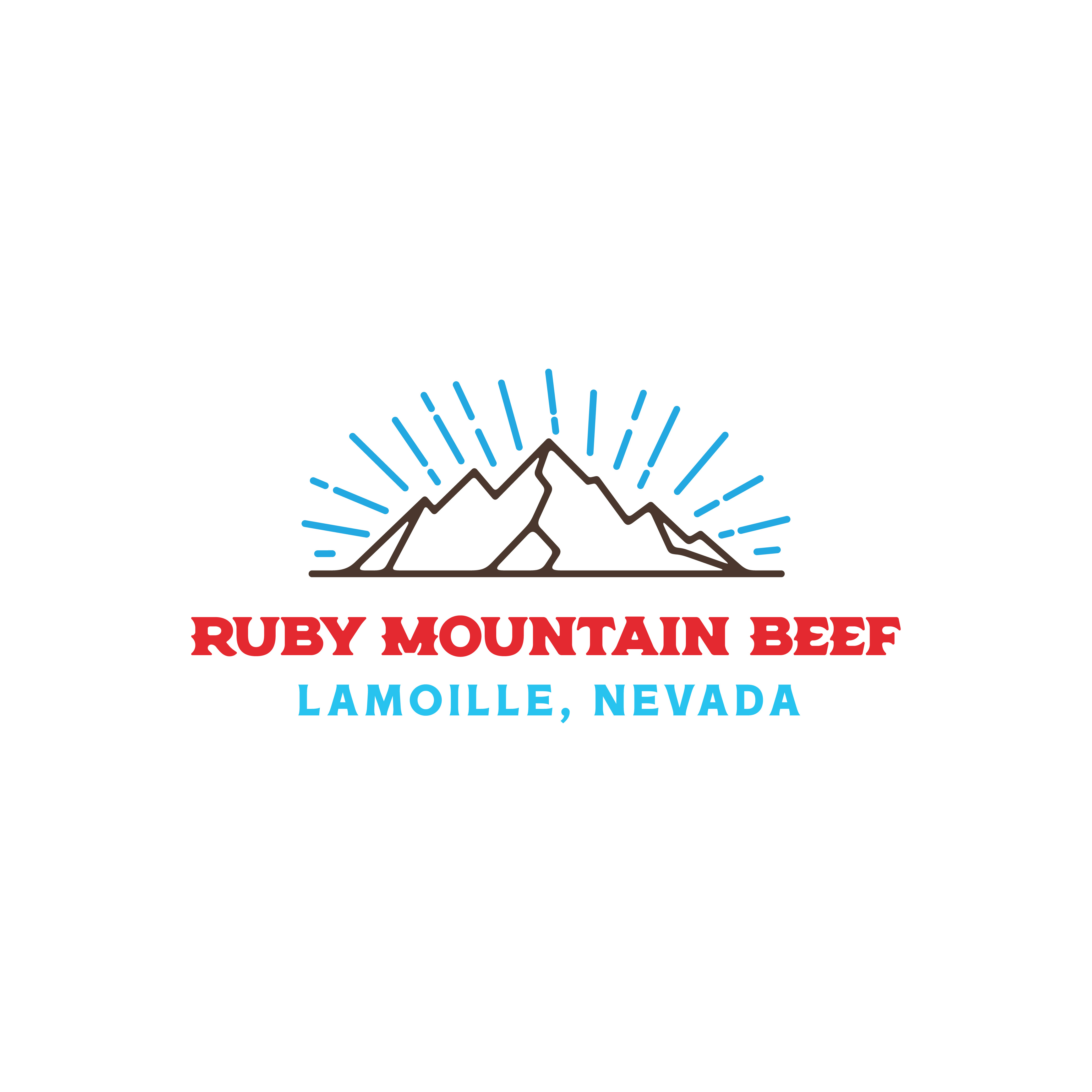 Ruby Mountain Beef Primary Logo