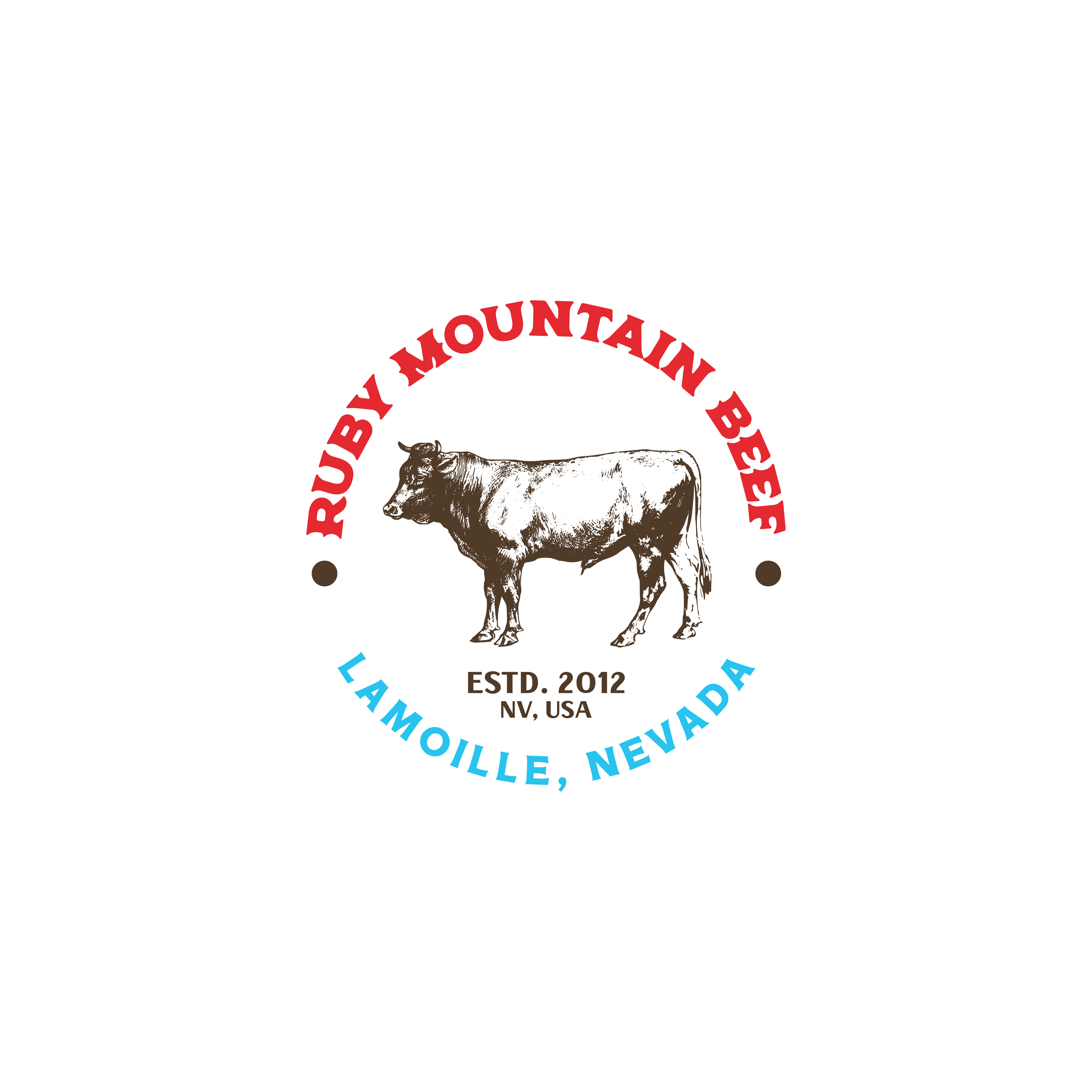 Ruby Mountain Beef Auxiliary Logo
