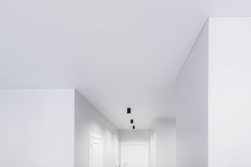 Натяжные потолки в Сочи, профильные (теневые)