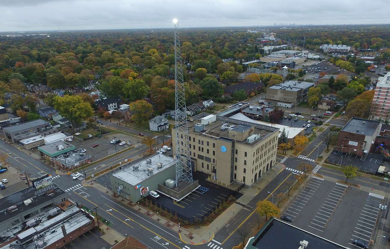 New Wireless Self-Support Tower for AT&T
