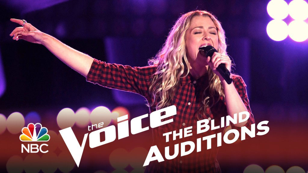 Amanda Lee Peers blind auditions
