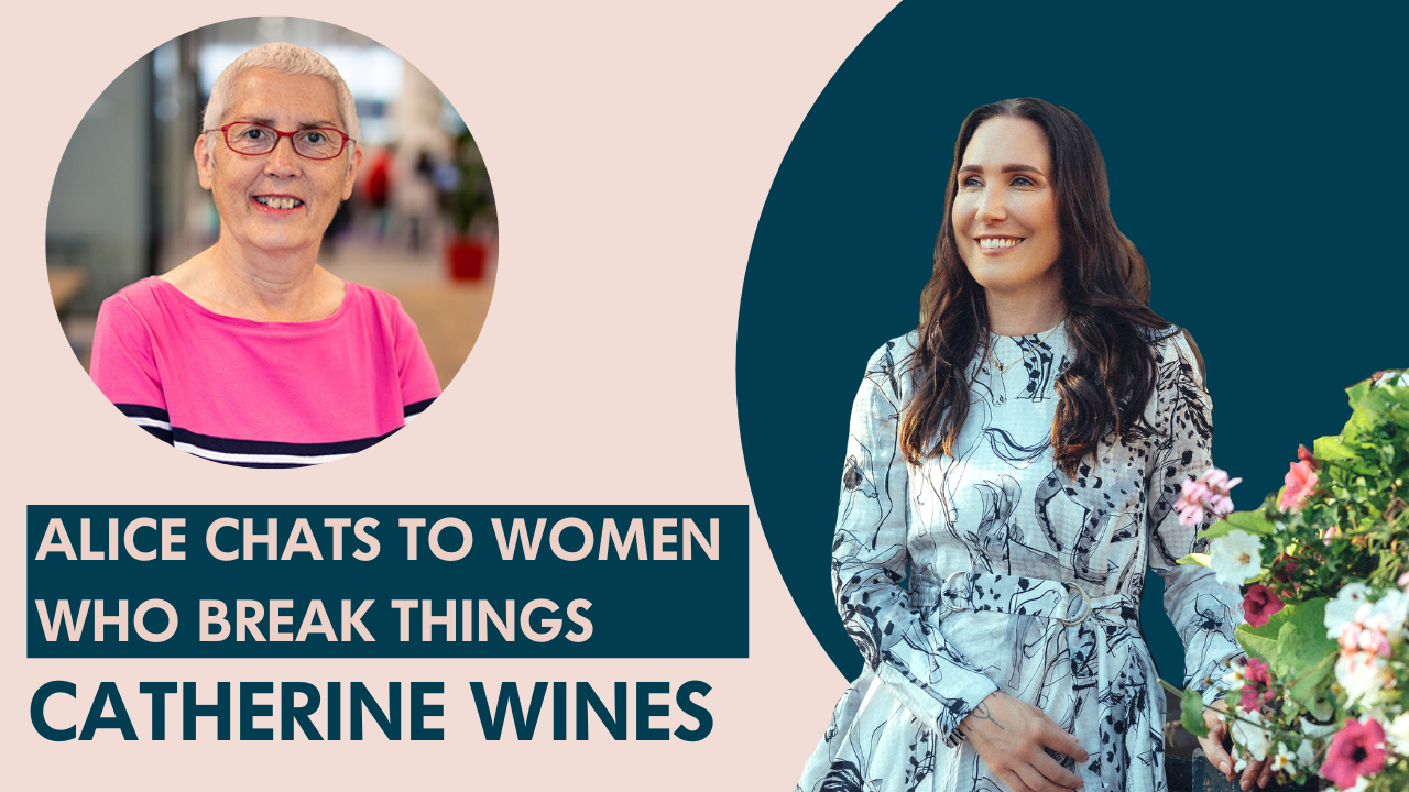 Catherine Wines on breaking what it means to be a 'strong' woman