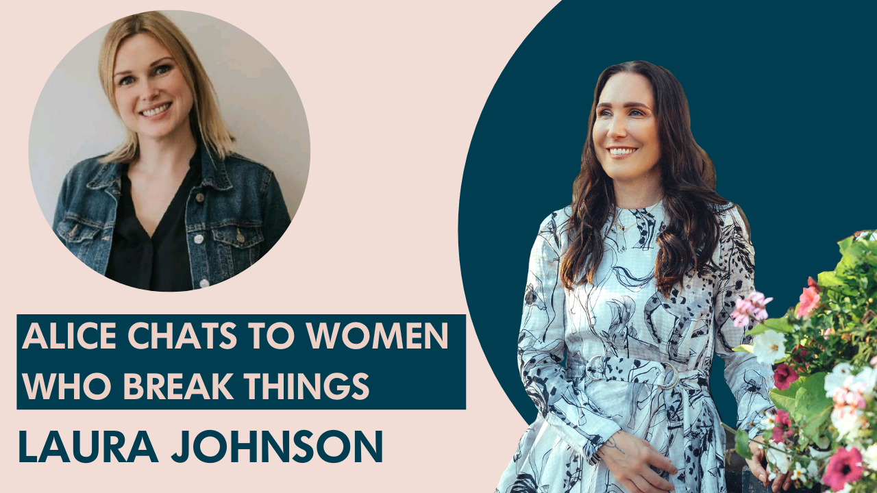 Laura Johnson on breaking our perception of beauty