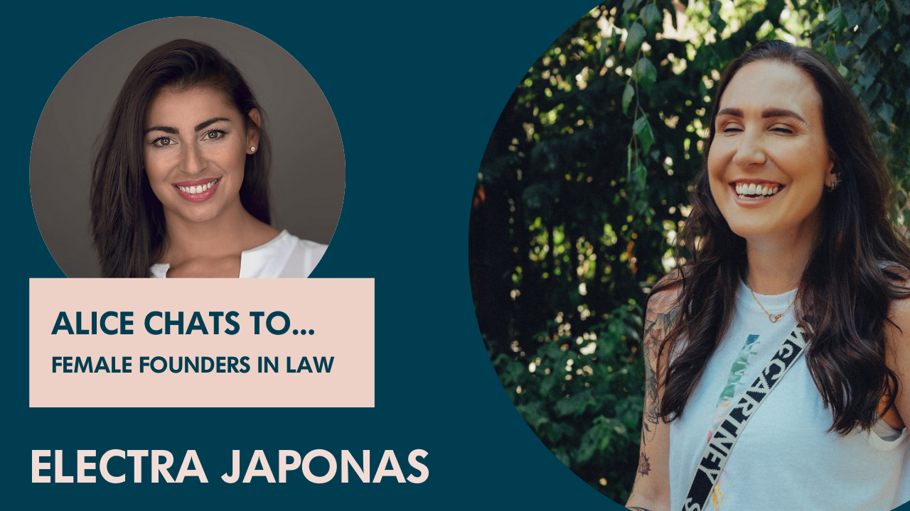 Electra Japonas on founding a legal optimisation company