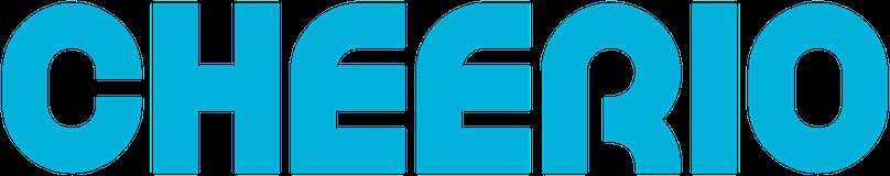 cheerio logo blue