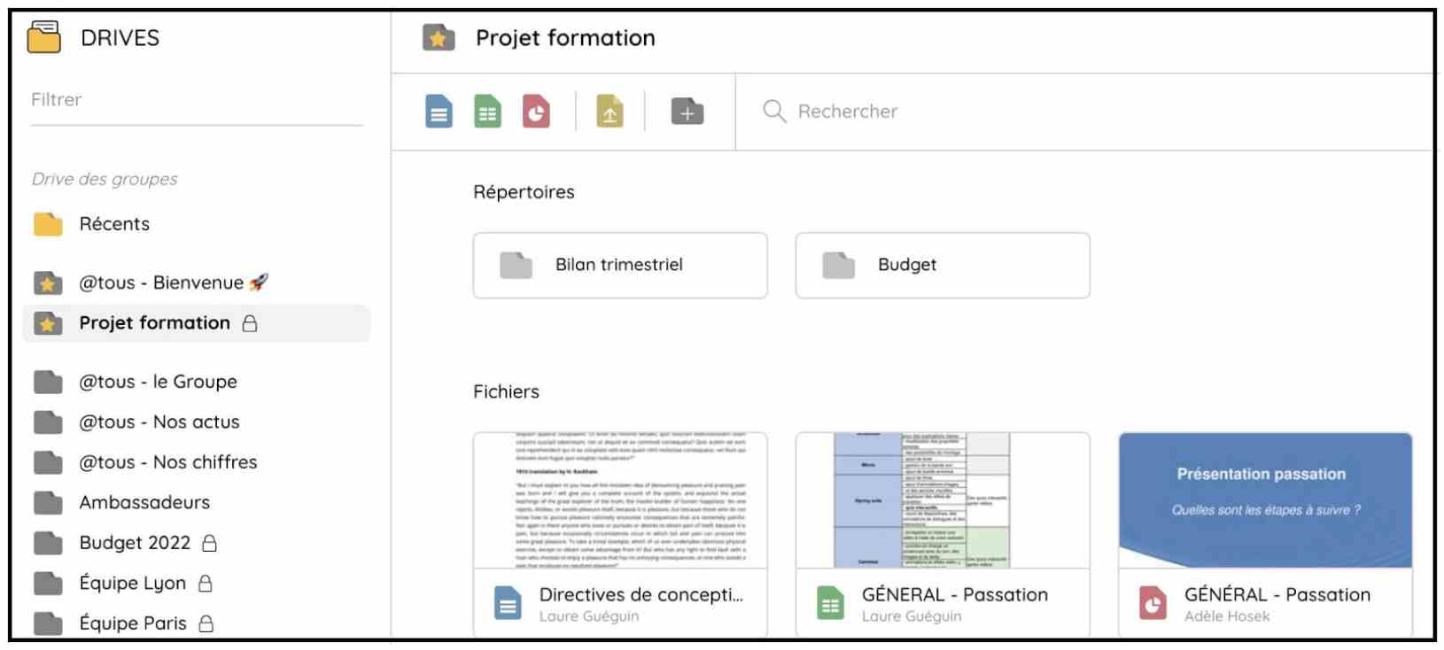 Share essential documents for your project