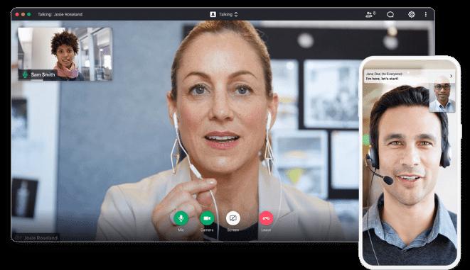 communication d'équipe GoToMeeting