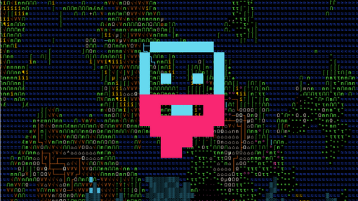 Dwarf Fortress introduction with pixel dwarf face
