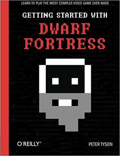 Getting Started with Dwarf Fortress book cover.