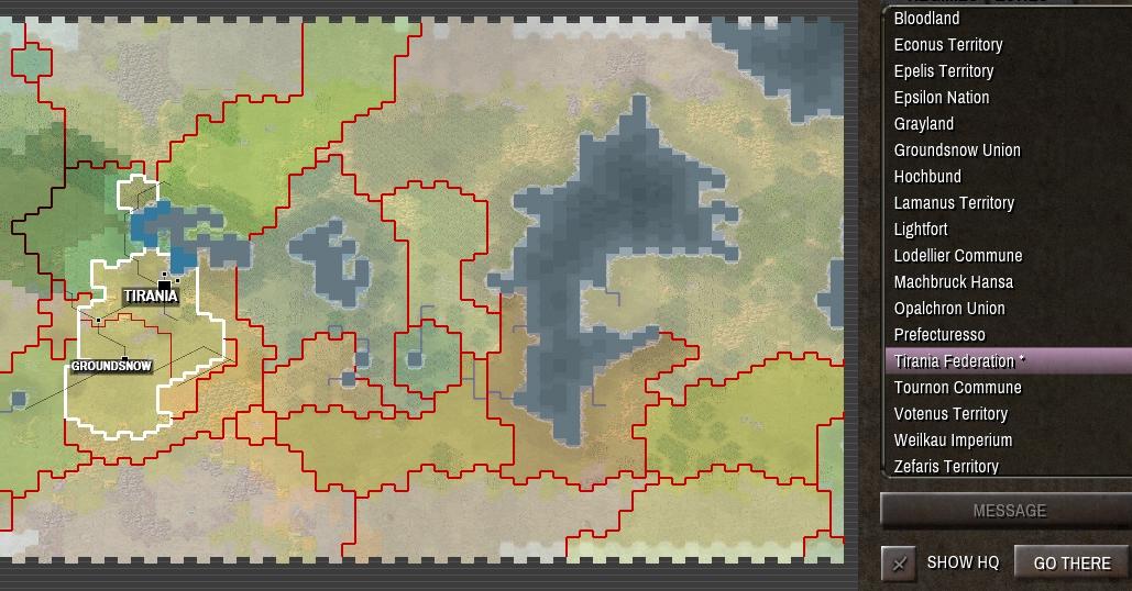 Shadow Empire Zone Map