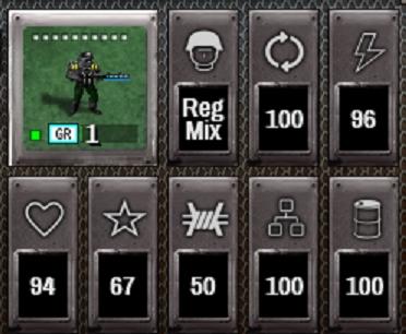 Shadow Empire Unit Stats
