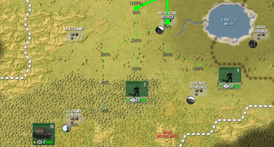 Shadow Empire Logistics