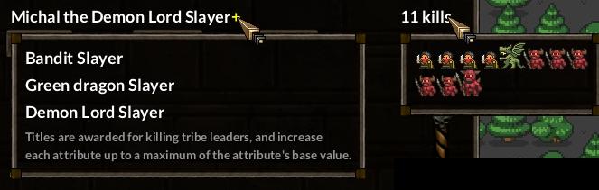 KeeperRL roguelike kill lists