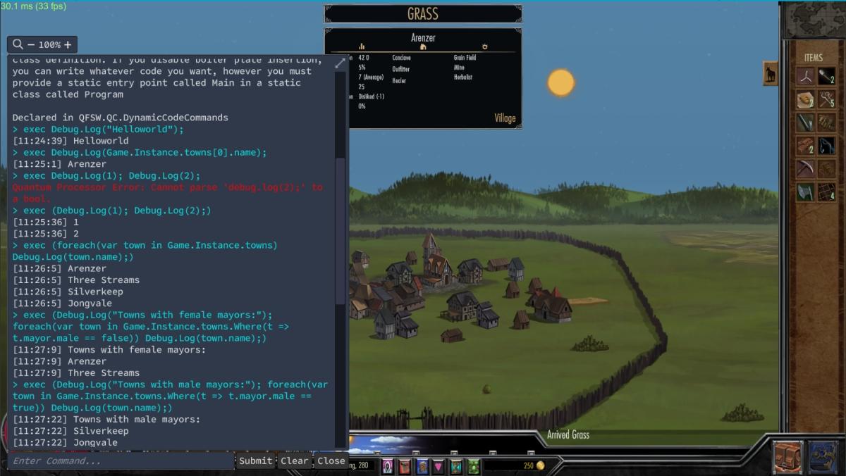 Archmage Rises Dev Console