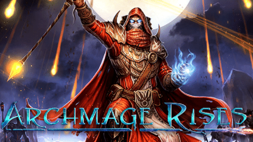 Archmage Rises image with mage and a staff