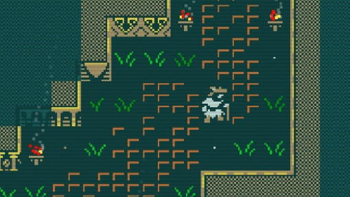 Cave of Qud screenshot of Tomb of Eaters entrance