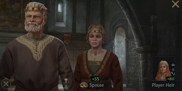 Crusader Kings 3 Lifestyle Button