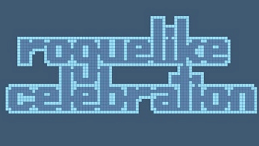 Blue banner for Roguelike Celebration
