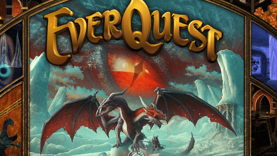 Everquest load screen for the Claws of Veeshan expansion