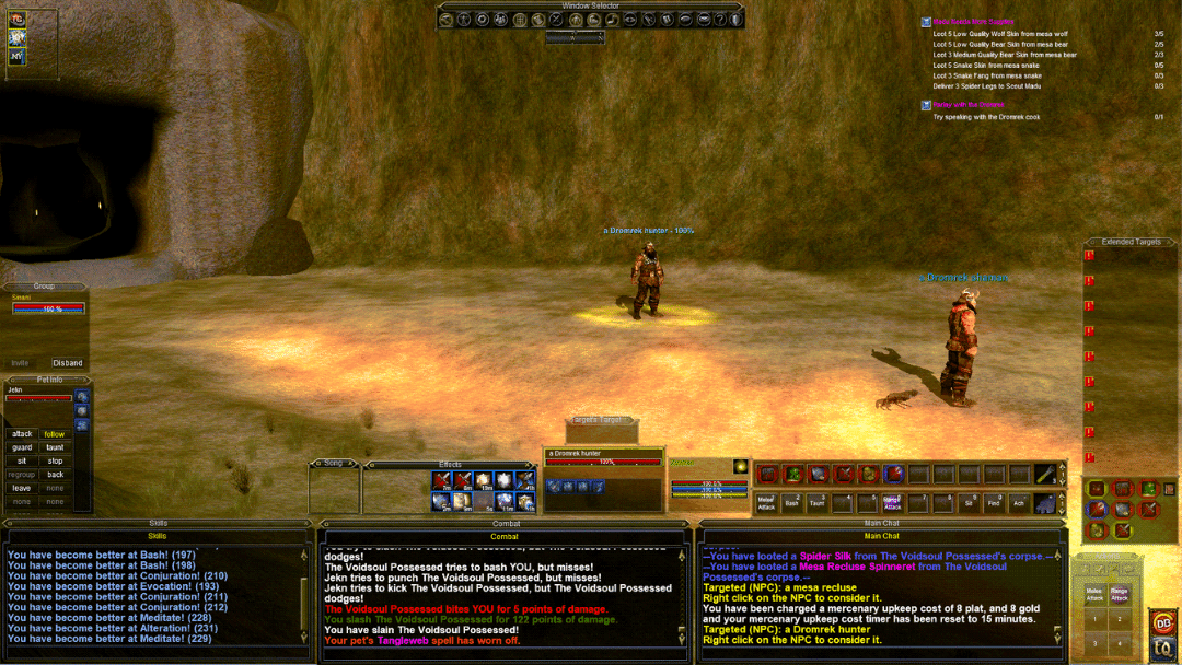 Everquest Domrek Gants in the valley