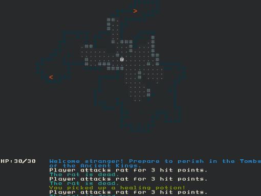 Cellular Automata-created Cave