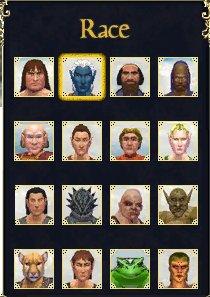 Everquest Character Races