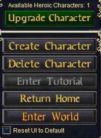 Everquest Enter World Button