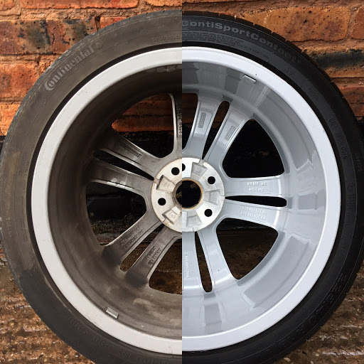 A comparison of a detailed wheel