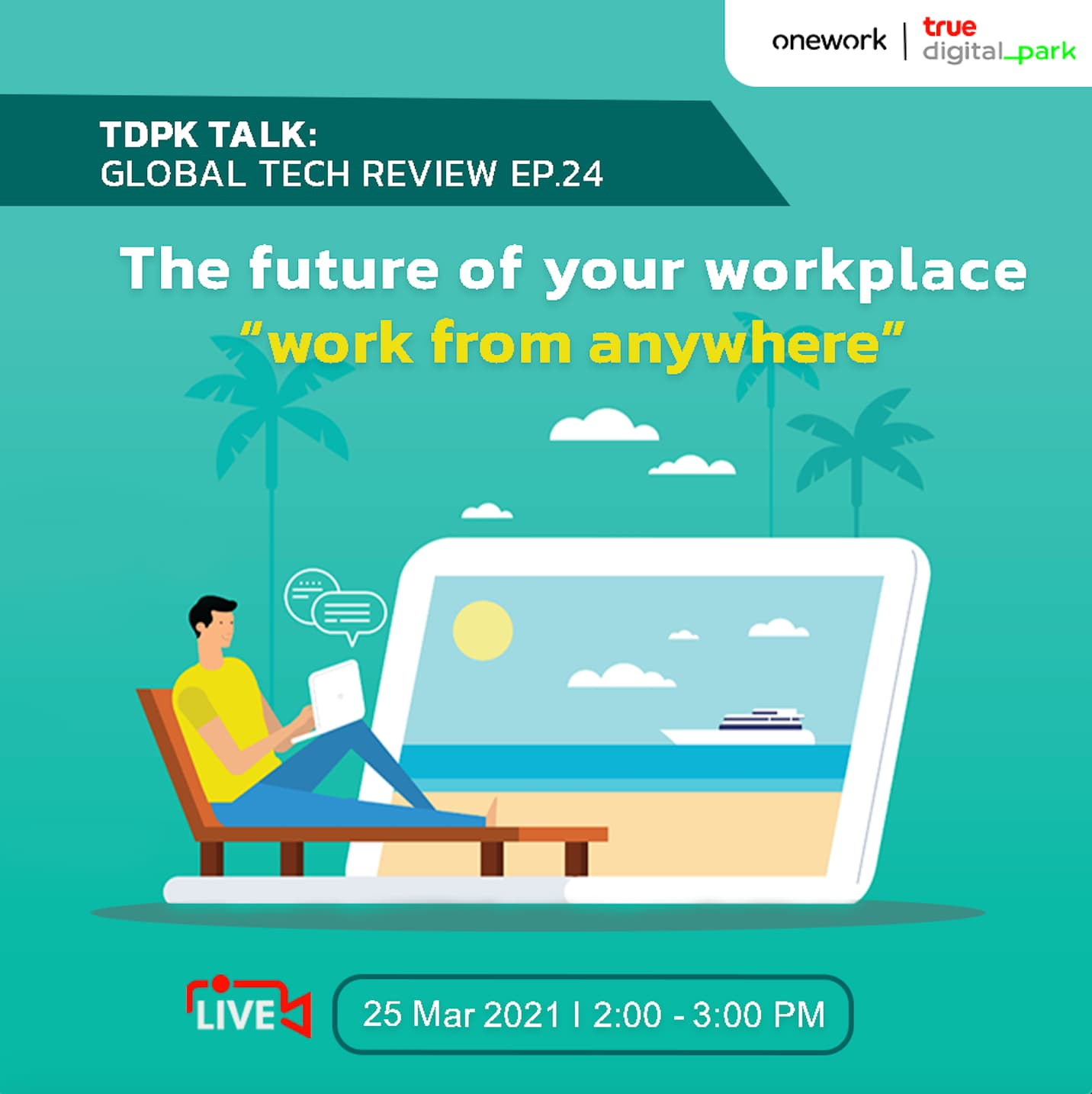 The future of your workplace - Work from anywhere