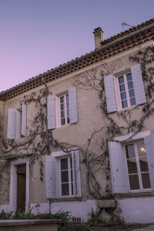 House Ventoux at dawn