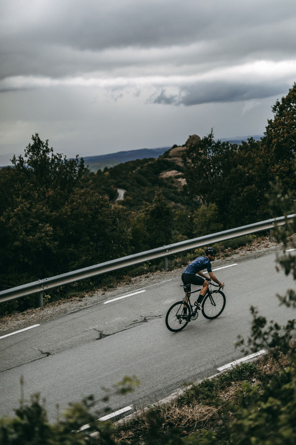 Cycling up Mont Ventoux