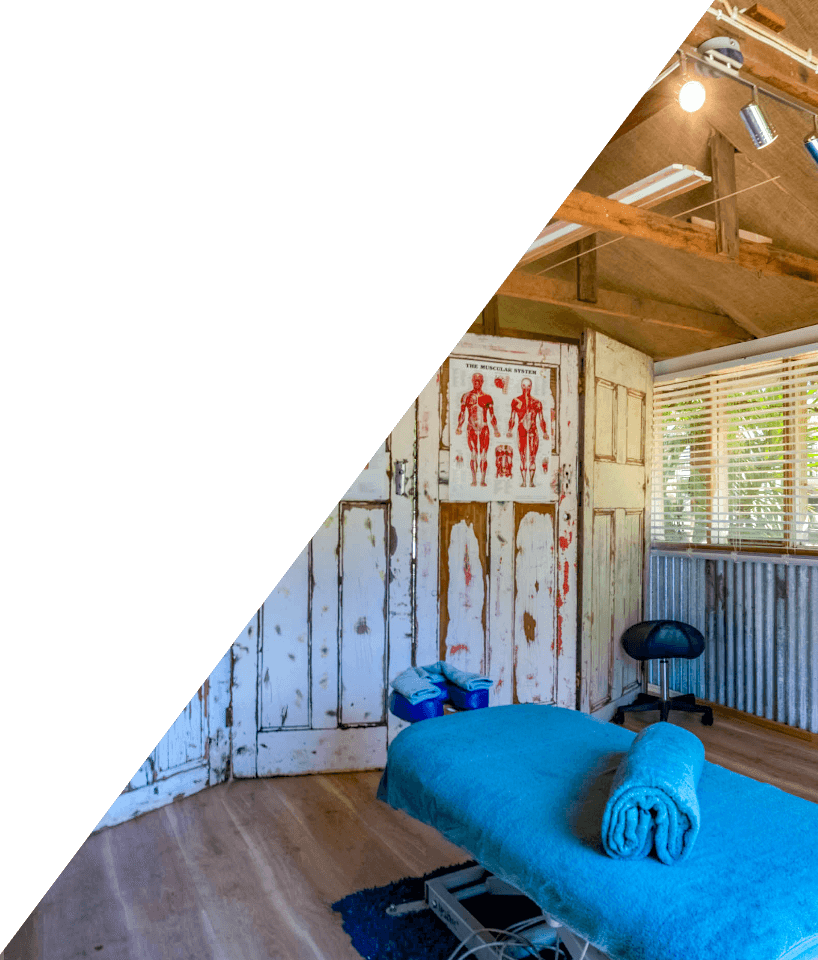 Massage room at TriActive in Euroa