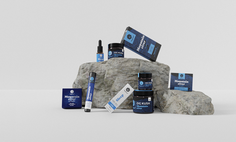 Happease packaging design, Happease branding, Happease design, CBD product design