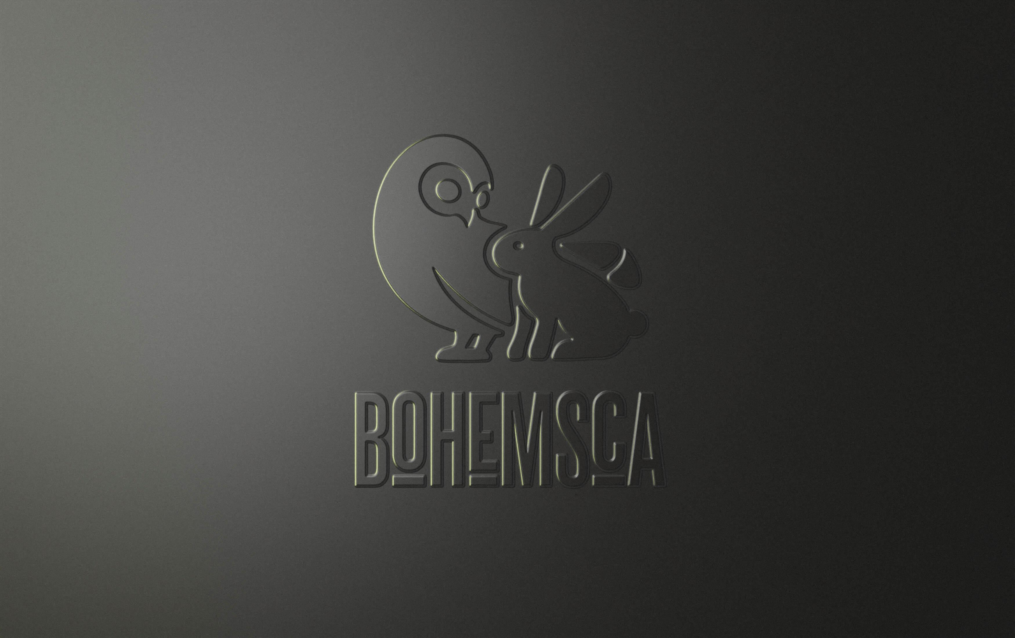 Bohemsca logo design
