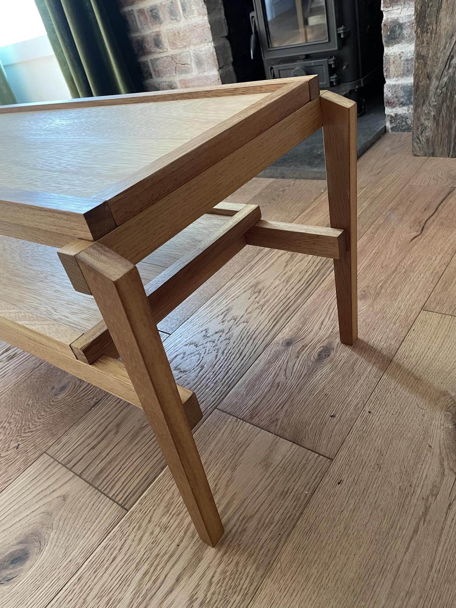 Iroko Coffee Table