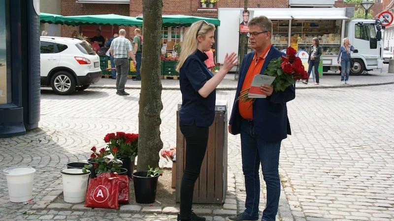 Erik Christensen i valgkamp