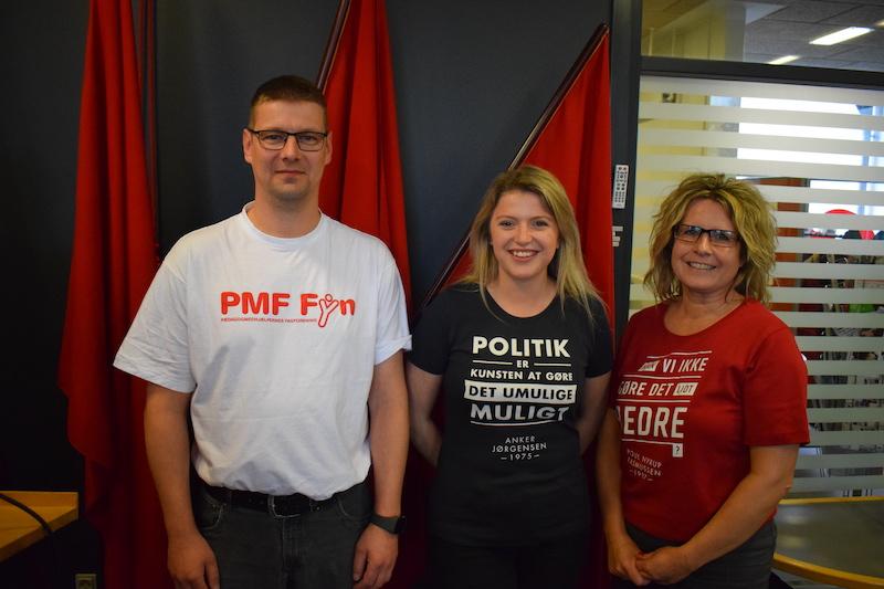 PMF og FOA tillidsfolk i Nyborg Kommune