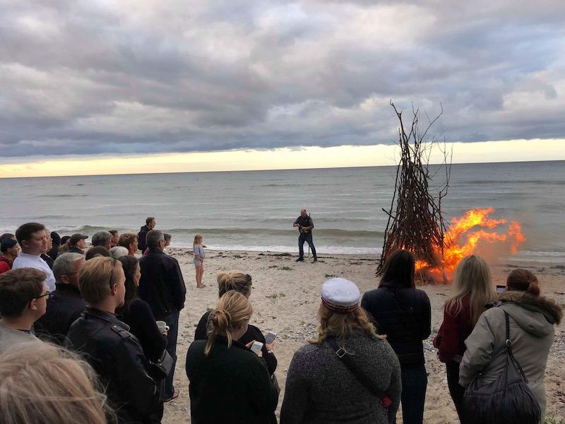 Sankt Hans ved stranden i Nyborg
