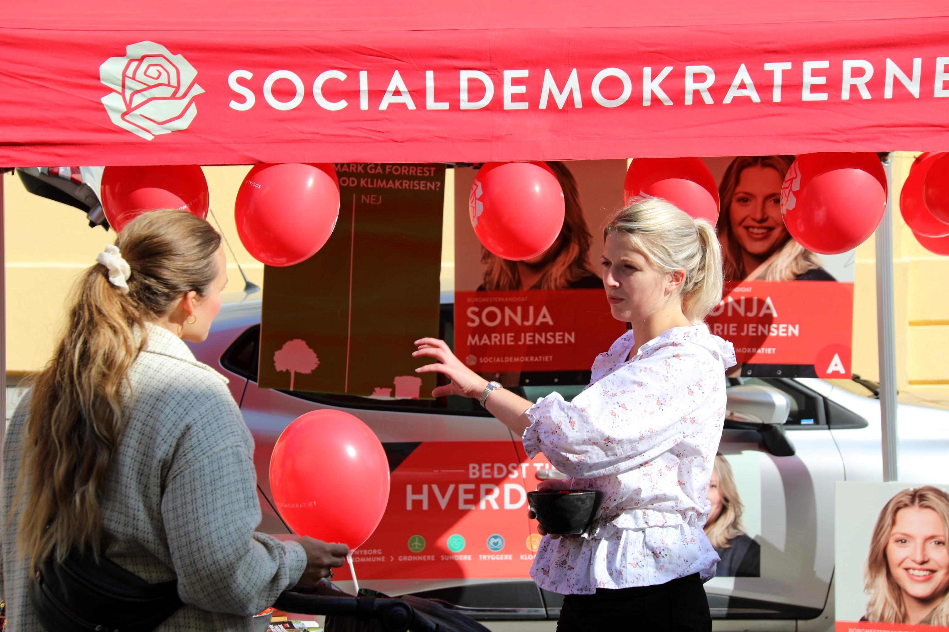 Kommunalvalg Nyborg gågade 2021