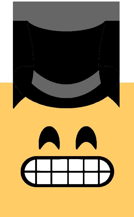 emoji top hat