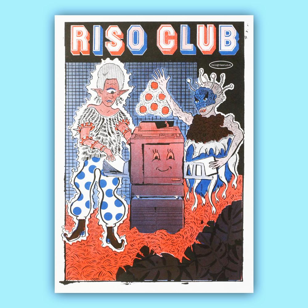 Riso Club Poster