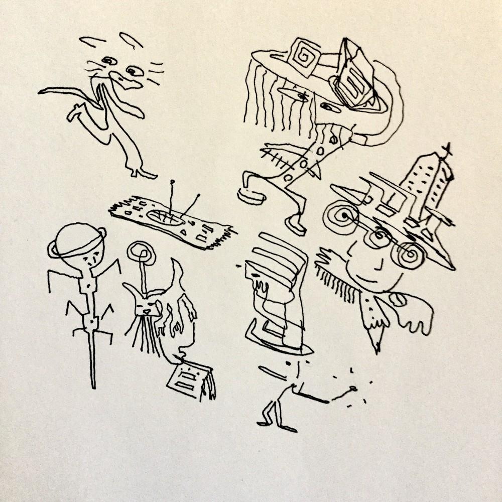 Interview: Asko Keränen Drawings