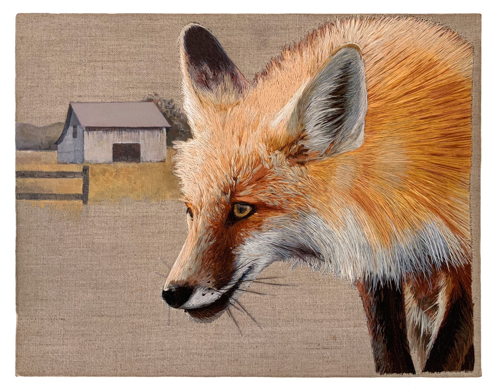 Mary Snowden A Preying Fox