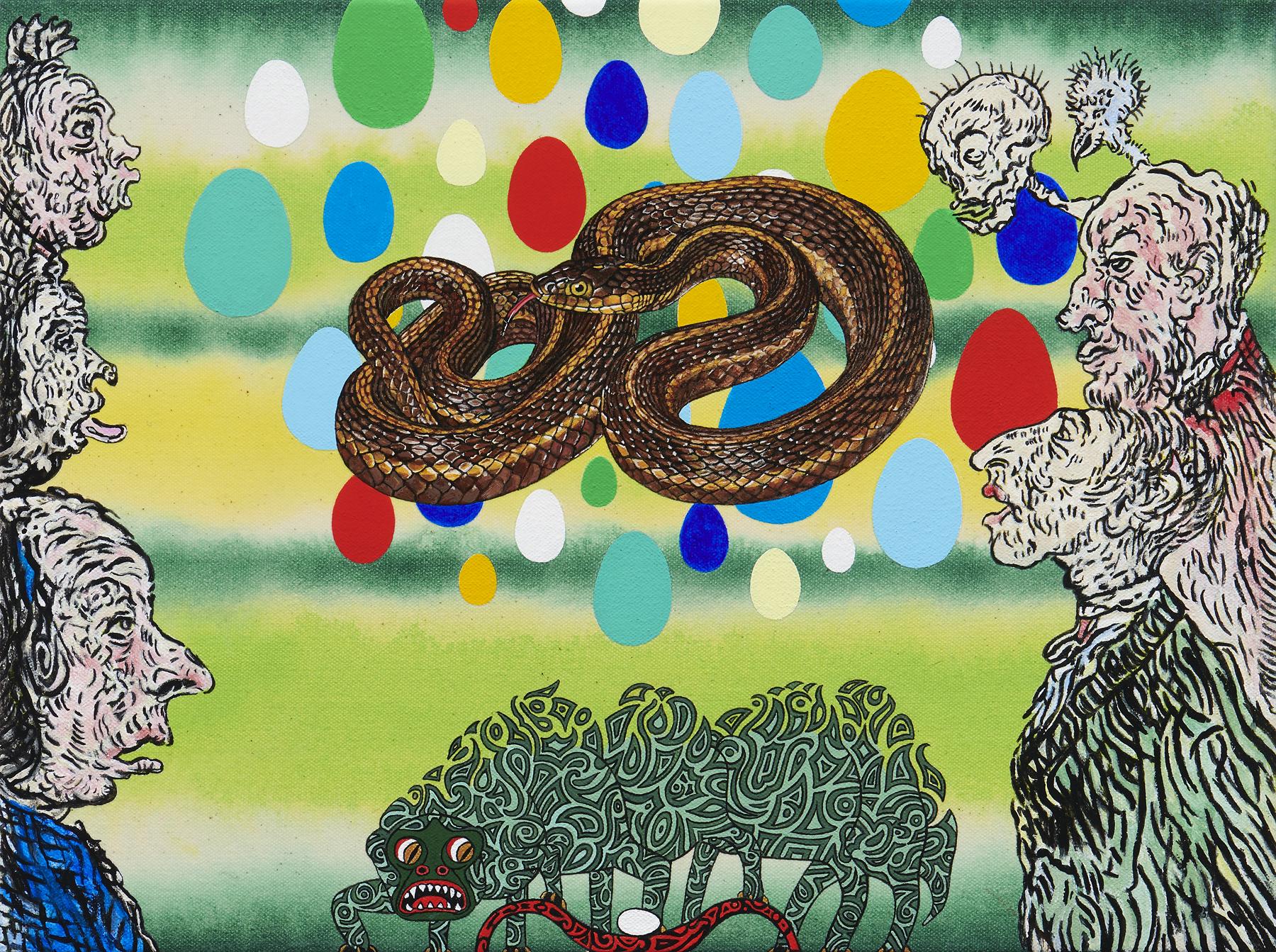 Kara Maria Envy (giant garter snake)
