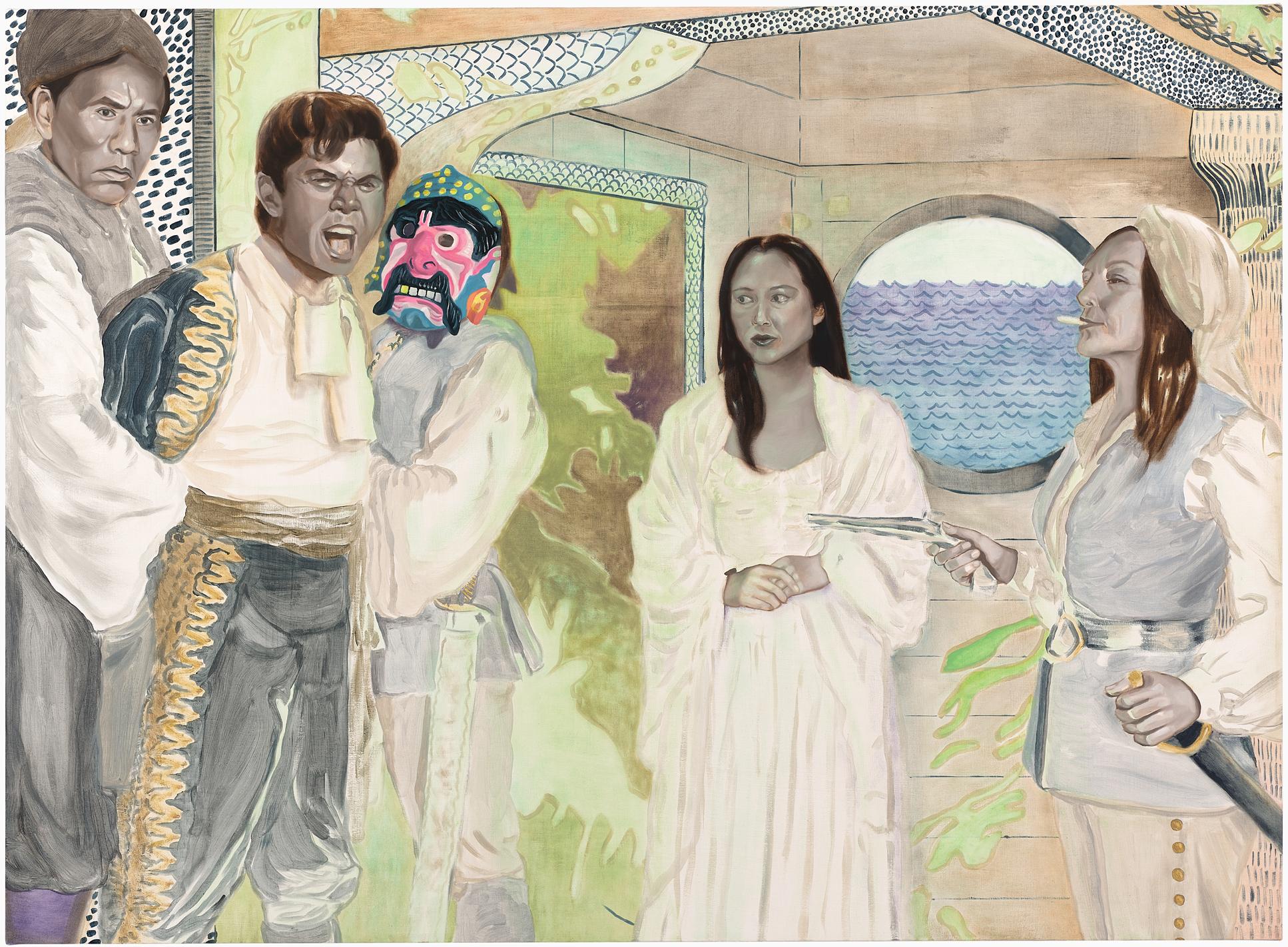Katie Dorame Mutiny Bound- Tantoo, Wes, Lou & Irene