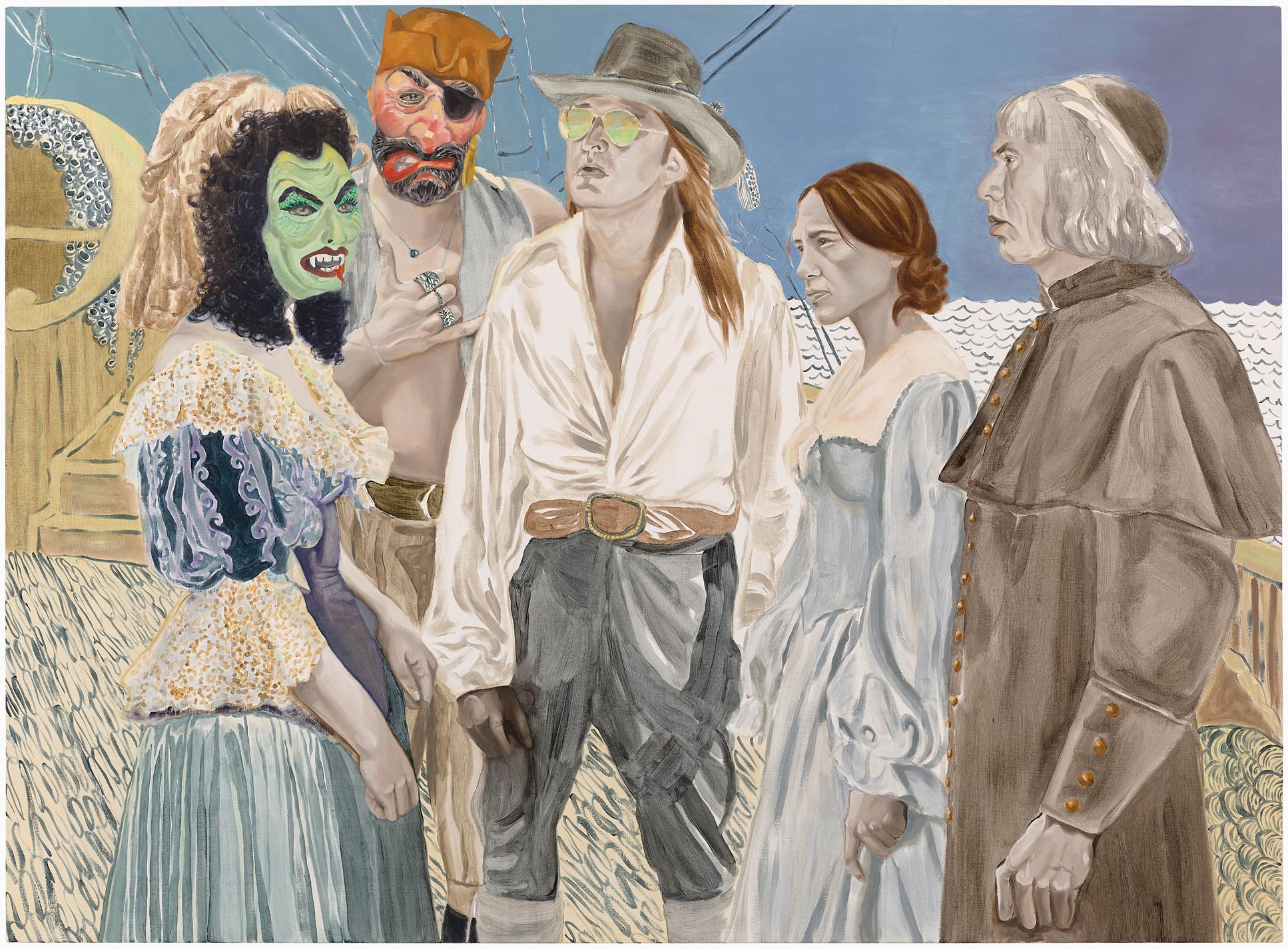 Katie Dorame Stow Away Voyage-Graham, Irene, Wes & the Rest