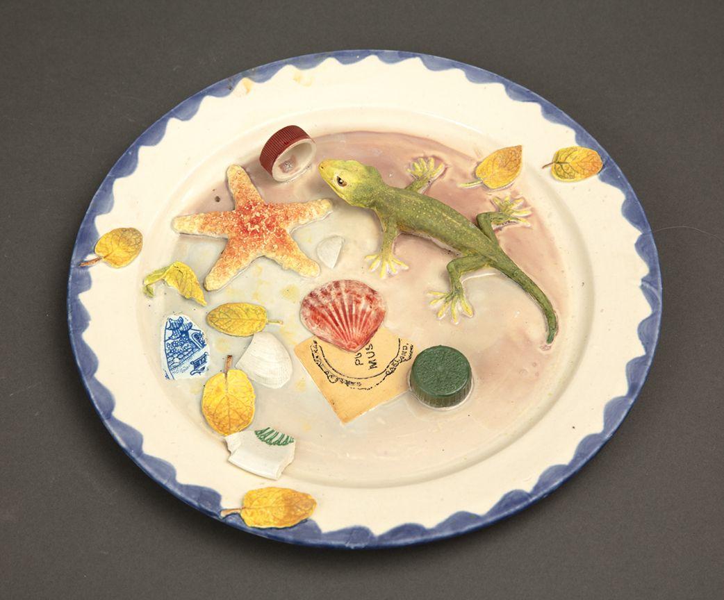 Richard Shaw Low Tide Gecko and Starfish